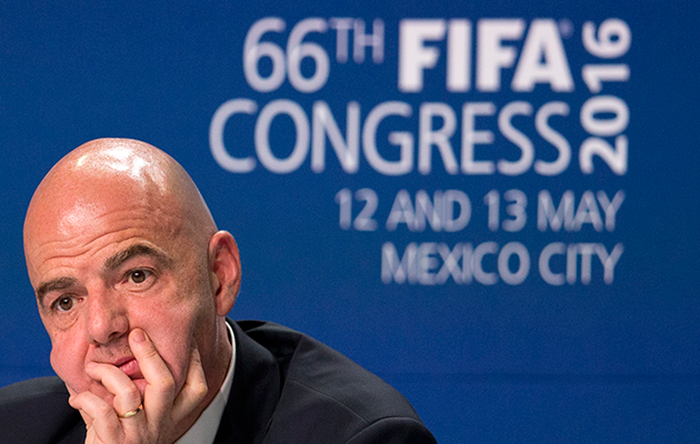 Gianni Infantino 48-team World Cup