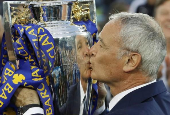 Claudion Ranieri Italy coach of season award