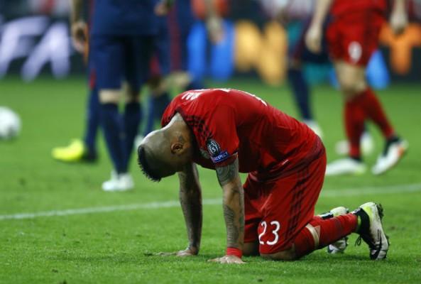 """Vidal """"ugly football"""""""