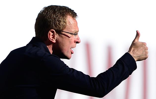 RB Leipzig coach Ralf Rangnick