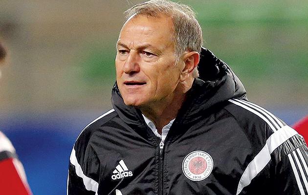 Albania coach Gianni De Biasi