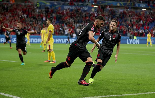 Albania 1 Romania 0