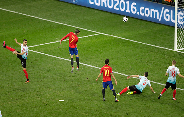 Alvaro Morata Spain Turkey