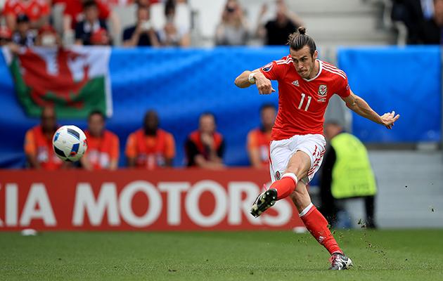 Gareth Bale Wales Slovakia