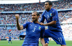 Italy 2 Spain 0