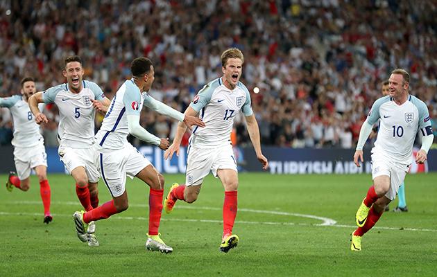 Eric Dier goal England v Russia