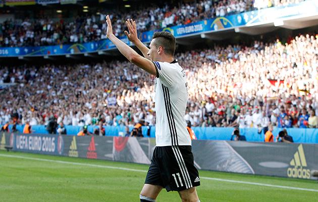 Germany 3 Slovakia 0 Julian Draxler