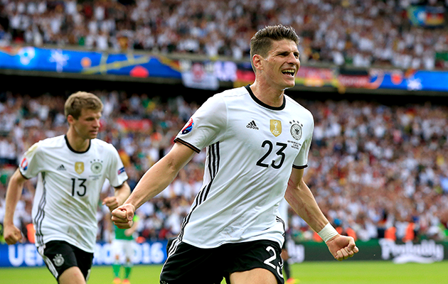 Germany Mario Gomez