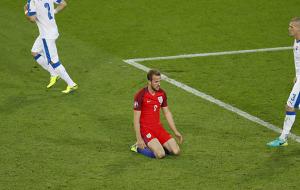 Harry Kane Unconvincing England