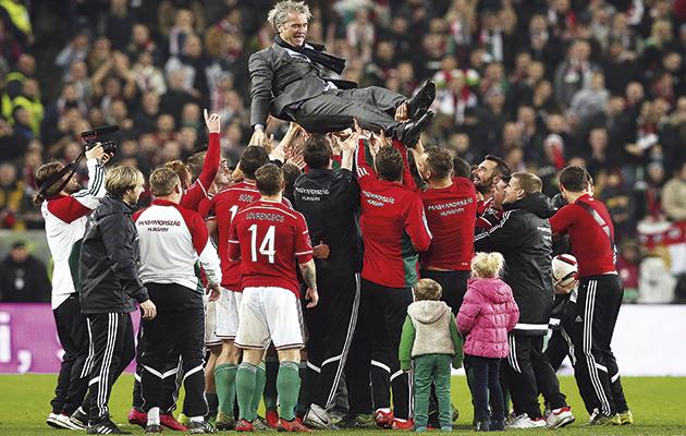 Hungary coach Bernd Storck