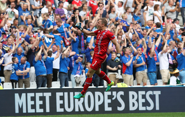 Iceland 1 Hungary 1 - match report
