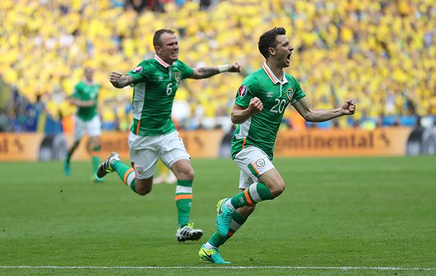 Ireland goal