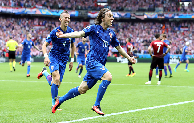 Luka Modric goal against Turkey Euro 2016