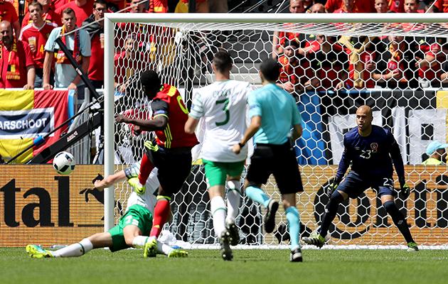 Romelu Lukaku Belgium Ireland