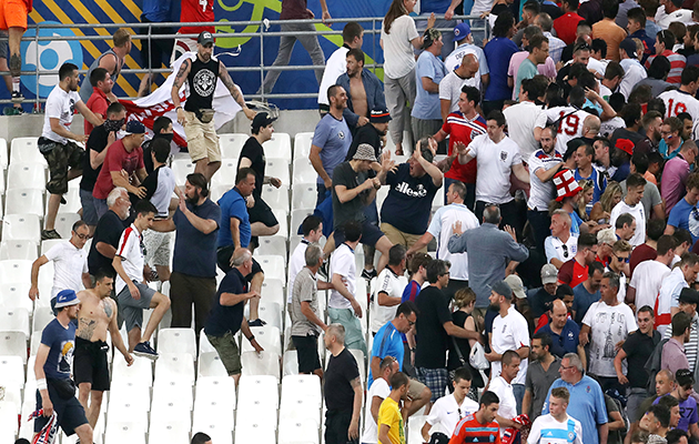 French prosecutors: 150 Russians behind violenceMarseille trouble Euro 2016