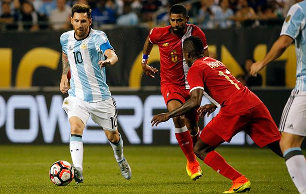 Messi Panama Cop America