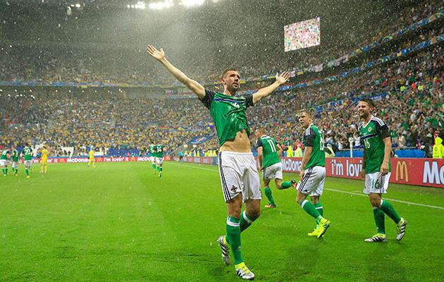 Ukraine 0 Northern Ireland 2