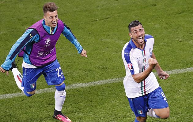 Italy 2 Belgium 0