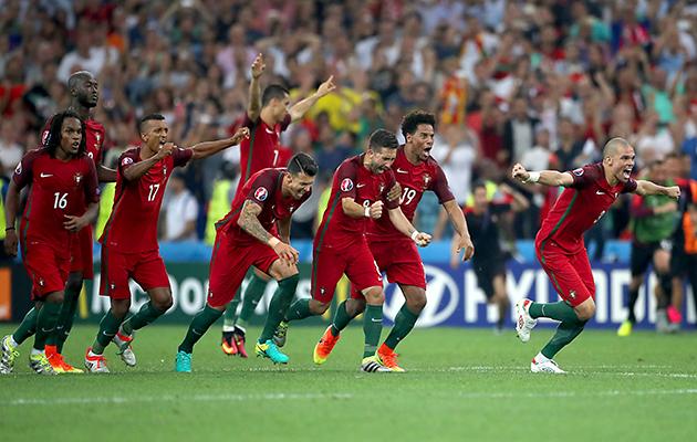 Poland 1 Portugal 1 (Portugal 5-3 on pens)