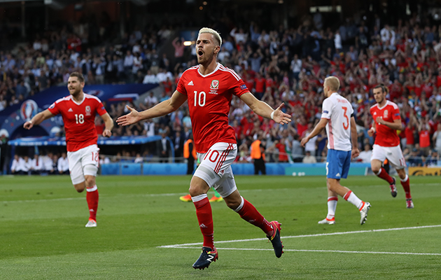 Russia 0 Wales 3