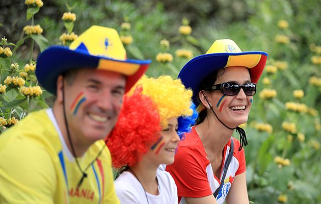 Romania fans
