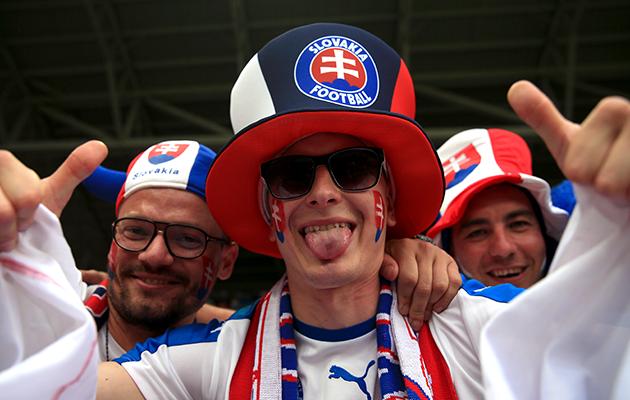 Slovakia-fans
