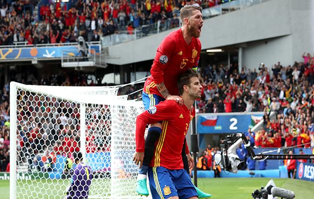 Spain 1 Czech Republic 0
