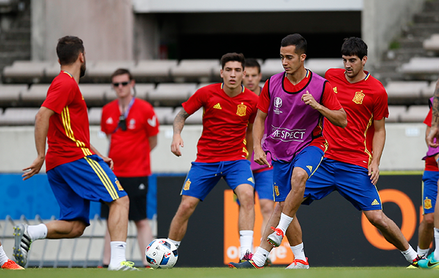 Croatia spain preview spain train