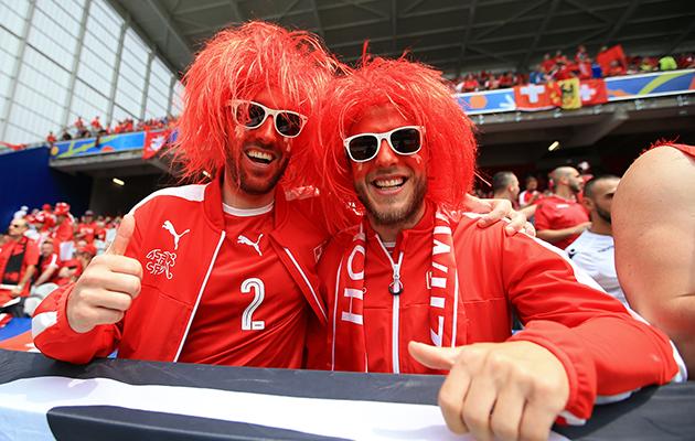 Switzerland fans euro 2016
