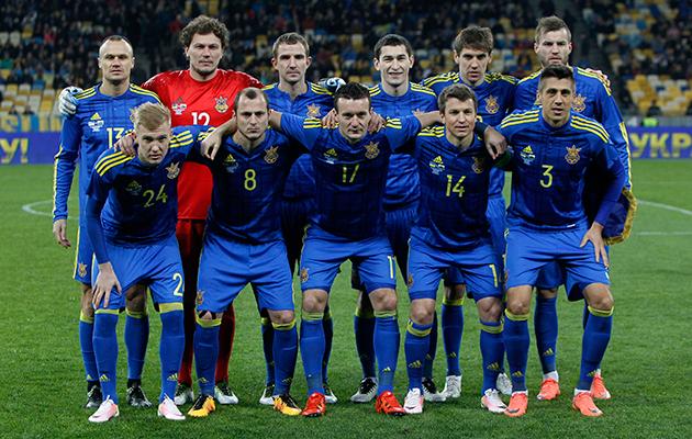 Ukraine squad