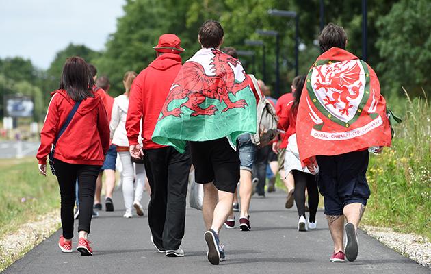 Wales fans euro 2016