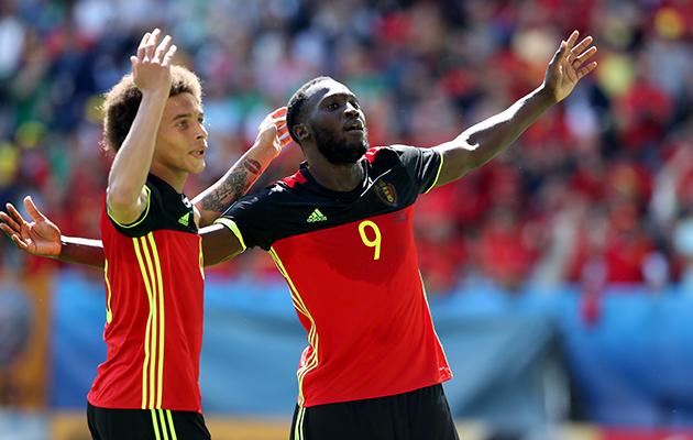 Belgium 3 Rep Ireland 0