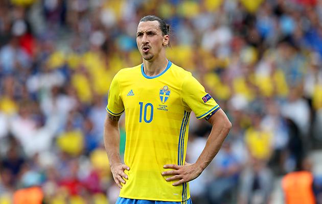 Zlatan Ibrahimovic sweden v Belgium preview