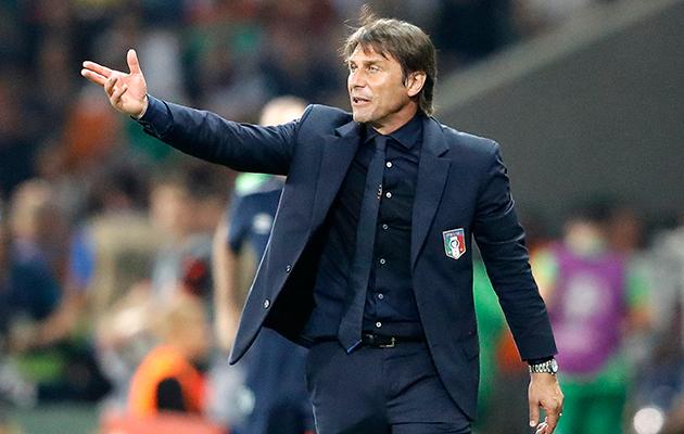 Antonio Conte Italy v Spain