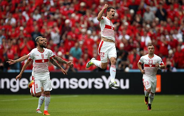 Switzerland score euro 2016