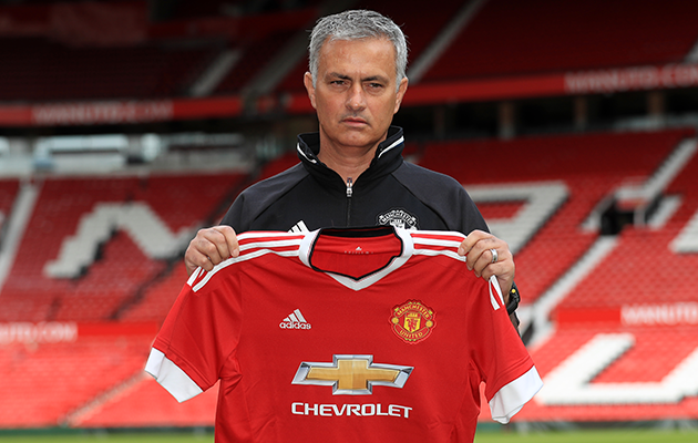 Jose Mourinho at Manchester United and sets sights high