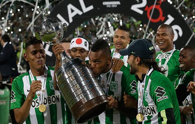 Miguel Borja Atletico Nacional Copa Libertadores