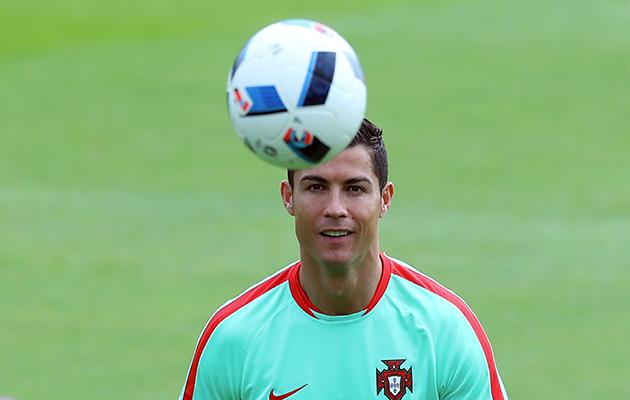 Cristiano Ronaldo v Wales