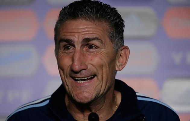 Edgardo Bauza Argentina coach.