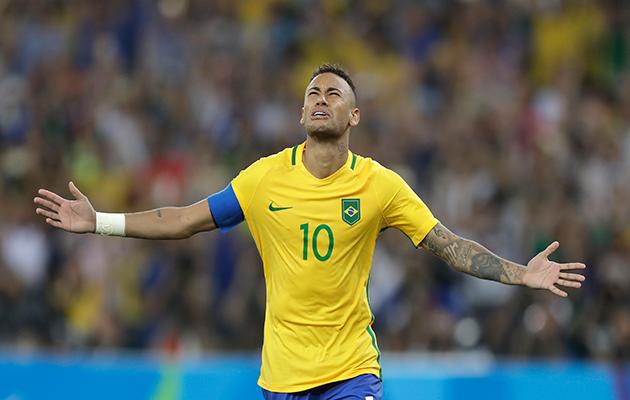 Neymar Rio 2016 Brazil
