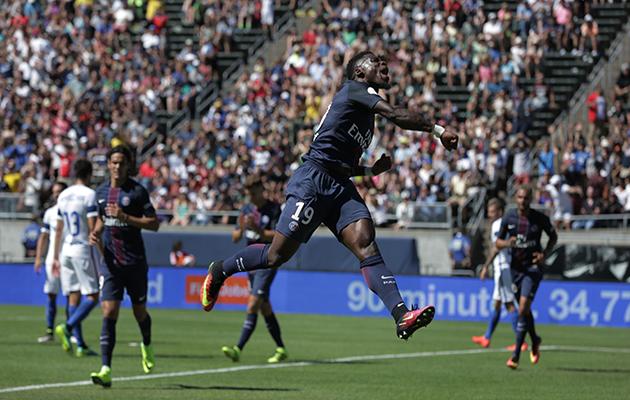 Paris Saint-Germain's Serge Aurier Ligue 1