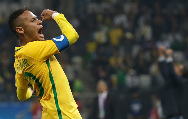 Neymar Brazil Olympics