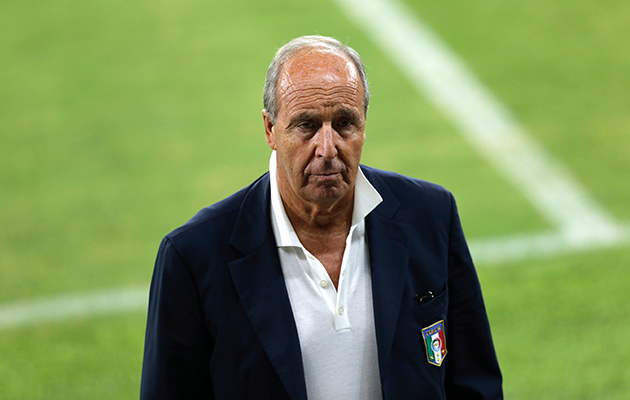 Giampiero Ventura Italy v spain