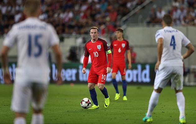 Wayne Rooney SLovakia