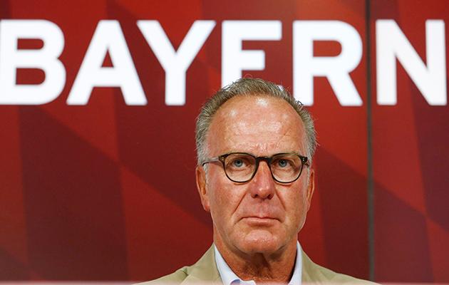 Bayern Munich chairman Karl-Heinz Rummenigge