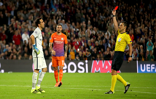 Claudio Bravo Manchester City Pep Guardiola