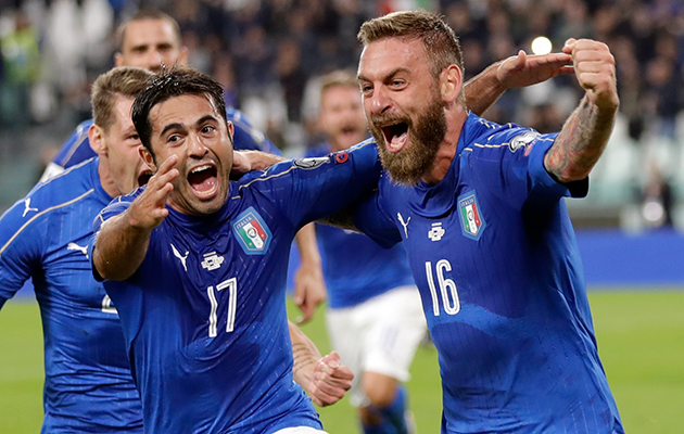Daniele De Rossi Italy Spain World Cup qualifiers