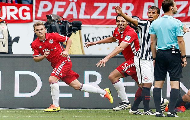 Joshua Kimmich Bayern Munich Cahill