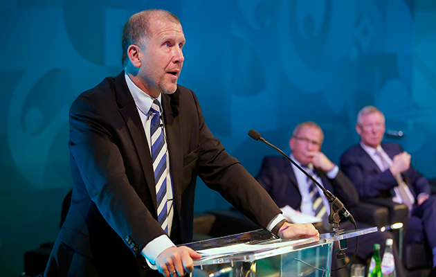 Stewart Regan Scottish FA CEO Cross-border League