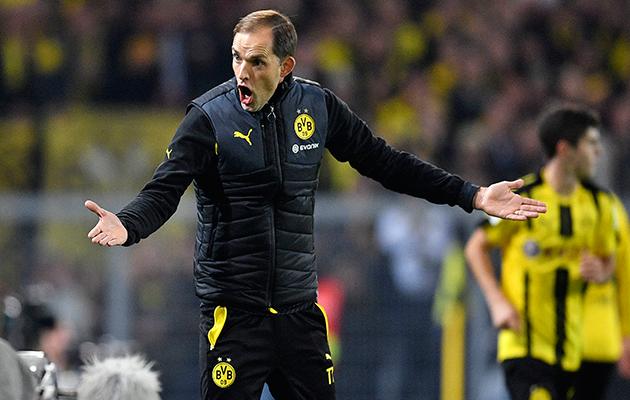 Dortmund coach Thomas Tuchel